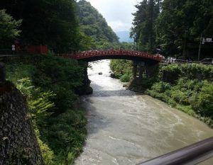Puente Sagrado Shinkyo, en Nikko