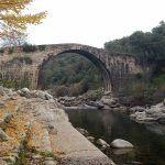 Puente Romano de Alardos, en Madrigal de la Vera (Cáceres)