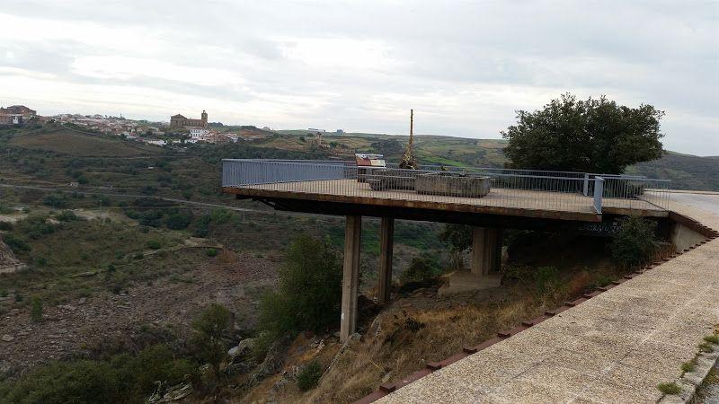 mirador puente romano de alcantara