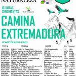 Circuitos Deporte y Naturaleza Extremadura 2016