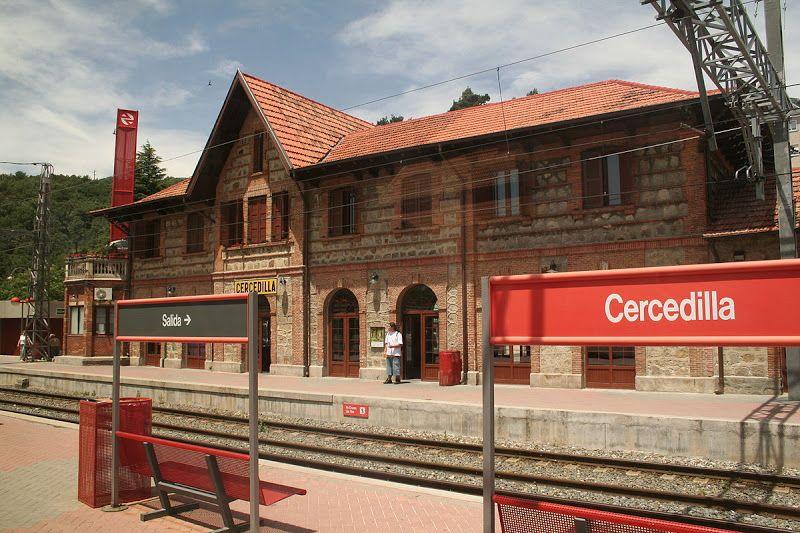 estación tren cercedilla