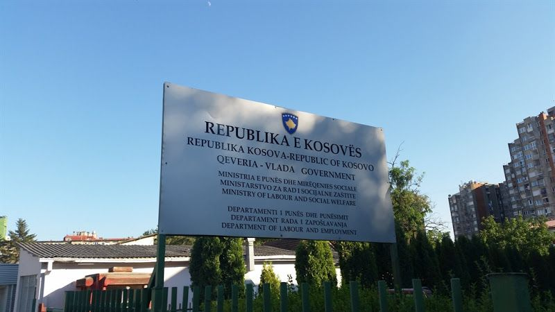 Cartel Republica de Kosovo