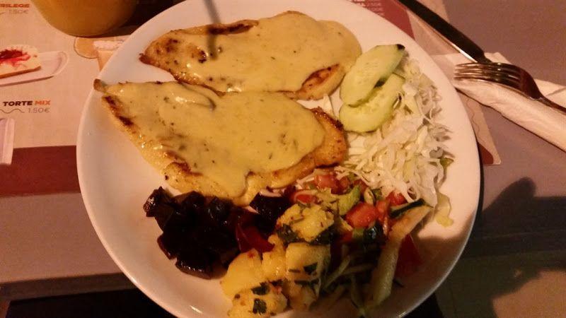 Comida en Pristina