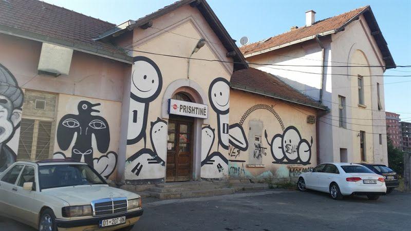 Estacion de tren Pristina
