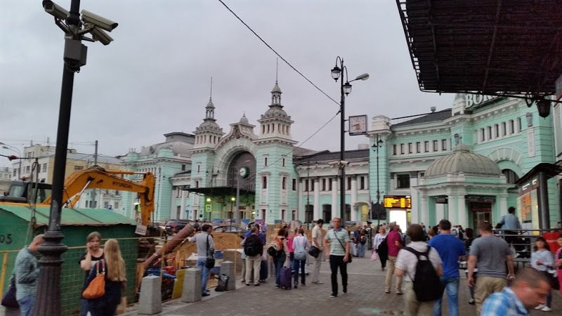 Estacion Belorussky en Moscu