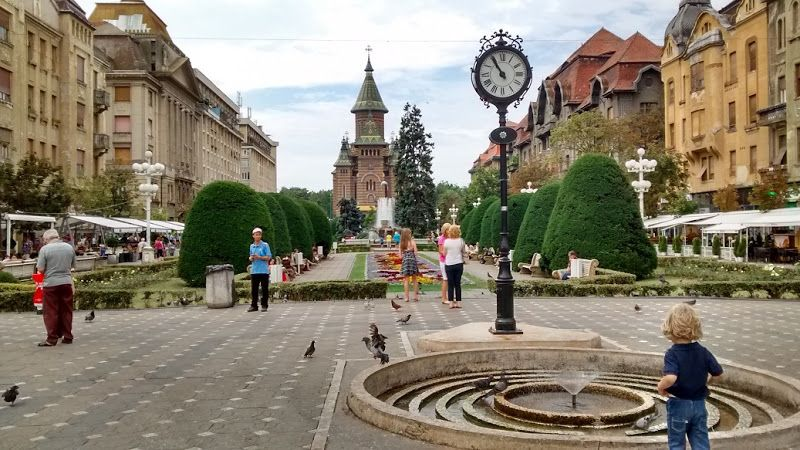 catedral ortodoxa timisoara rumania plaza victoria