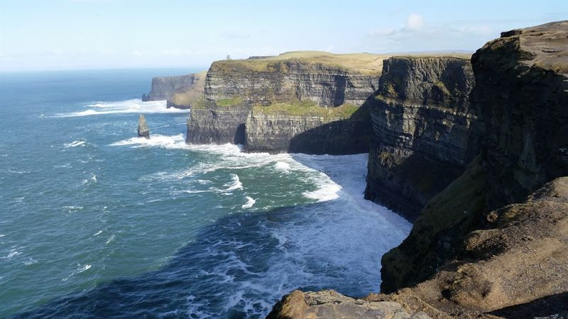 acantilados de moher maravilla en Irlanda