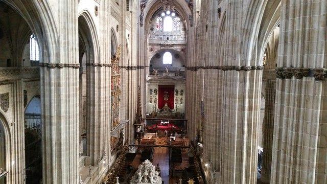 Interior catedral de Salamanca
