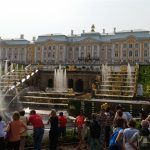 Visita al palacio de Peterhof, el Versalles ruso