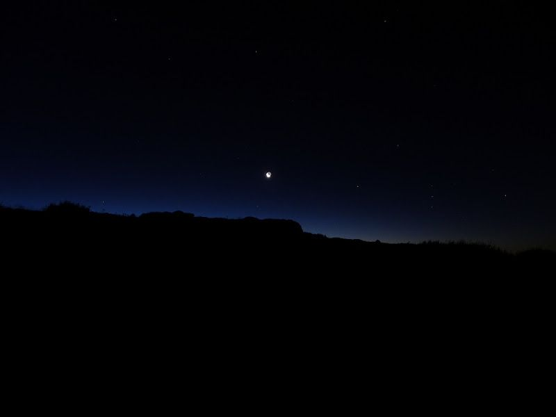 luna estrellas peñalara noche