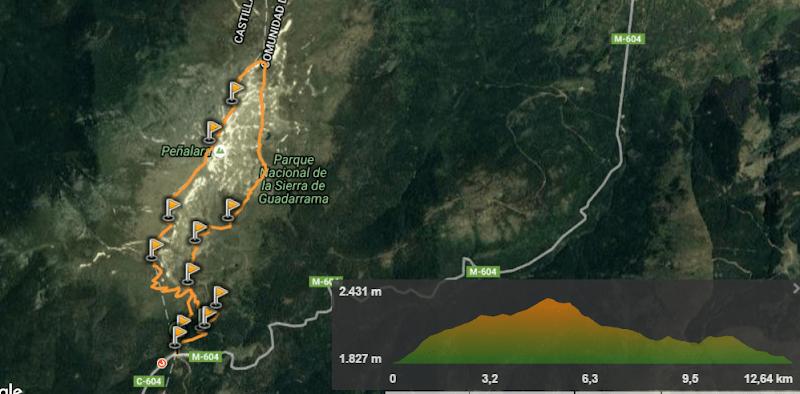 track ruta circular peñalara