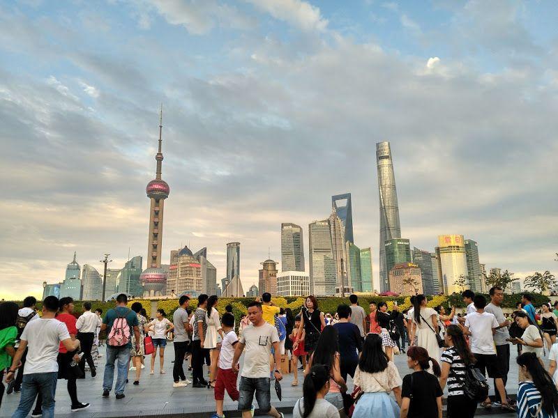 rascacielos pudong shanghai china