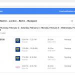 Monitorizando precios de vuelos con Google Flights