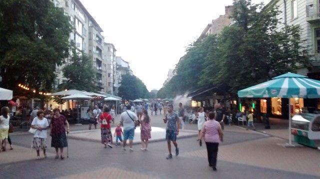 Bulevar Vitosha principal avenida Sofía