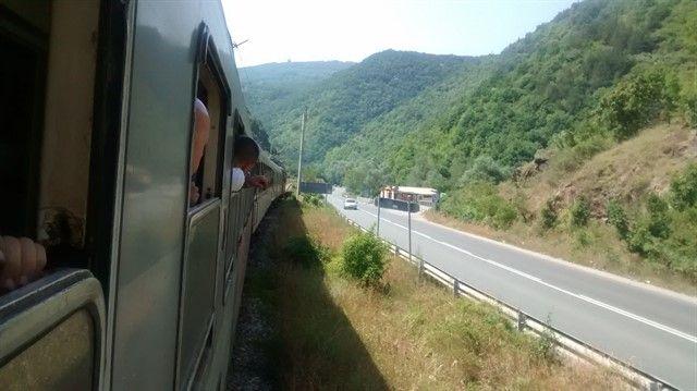 Tren de Belgrado a Sofía