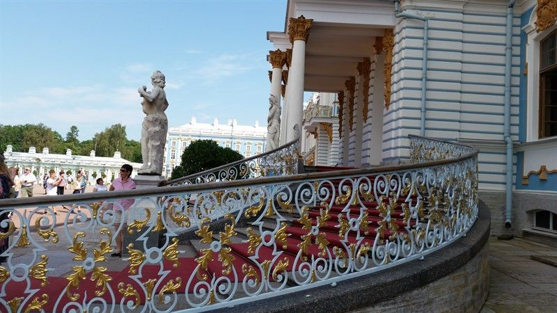 Escaleras palacio Catalina