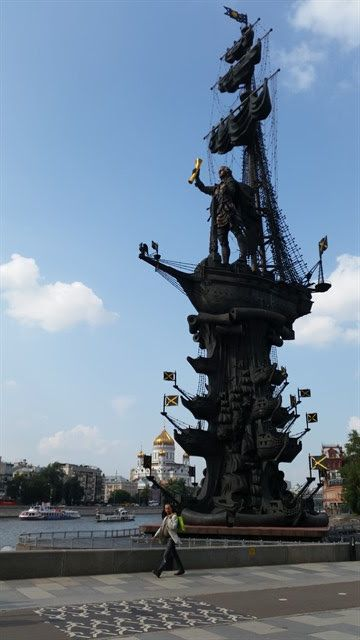 Estatua Pedro el Grande