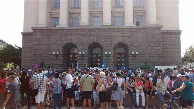 Manifestación electricidad Sofía