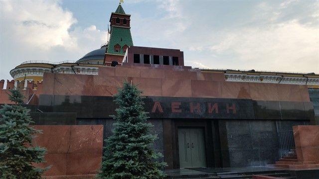 Exterior mausoleo de Lenin