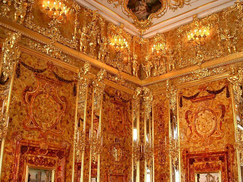 Sala de ambar palacio Catalina