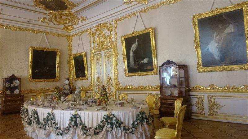 Salas palacio de Catalina