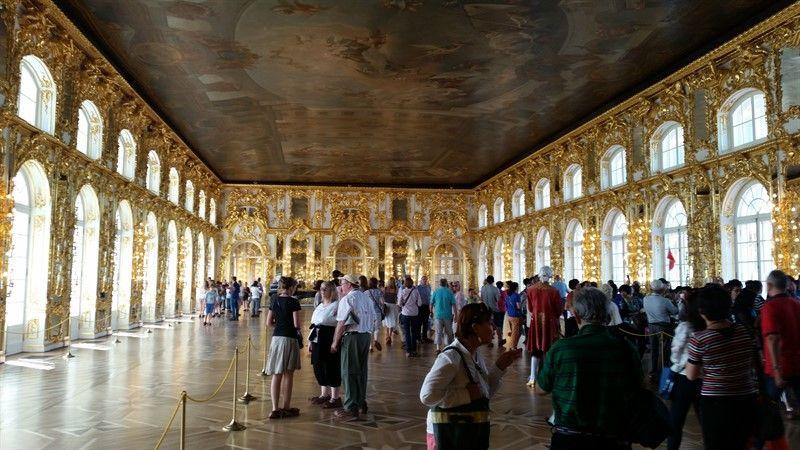 Salon de los Espejos palacio de Catalina