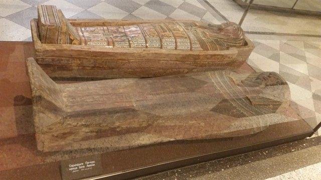 Sarcófagos egipcios Hermitage