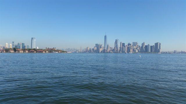 Vistas Manhattan desde el ferry