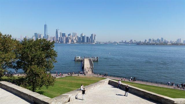 Nueva York desde la Estatua de la Libertad