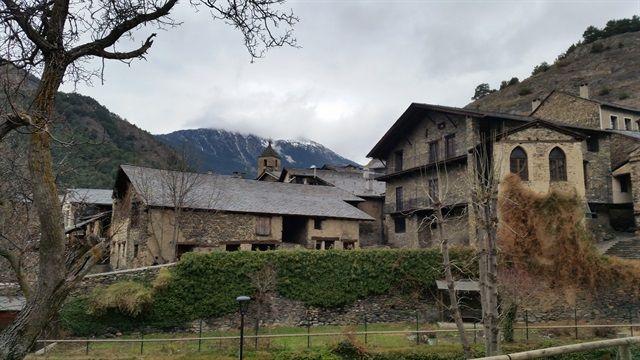 Ordino, bonito pueblo de Andorra