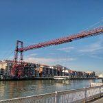 El Puente de Vizcaya, el puente colgante más antiguo del mundo