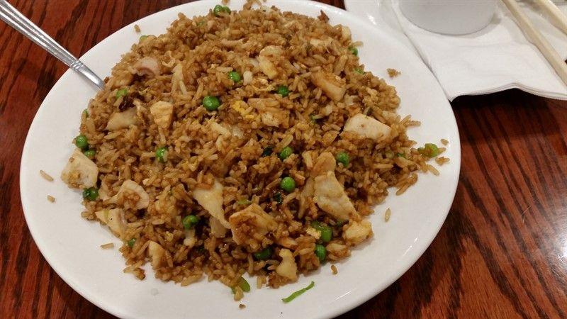 Comida asiática en Chinatown