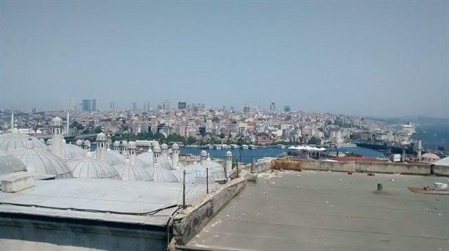 Vistas Estambul desde Suleymaniye
