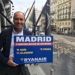 Nuevas rutas de Ryanair desde Madrid desde febrero