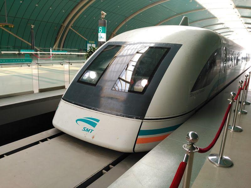 tren maglev shanghai