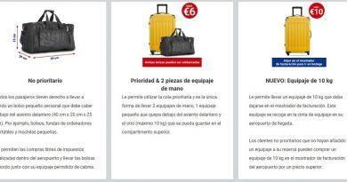 Qué equipaje de mano se puede llevar en Ryanair