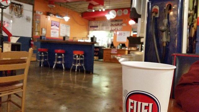 Fuel Pizza, un restaurante típico de comida rápida en Estados Unidos