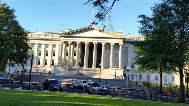 Treasury Building, Washington DC