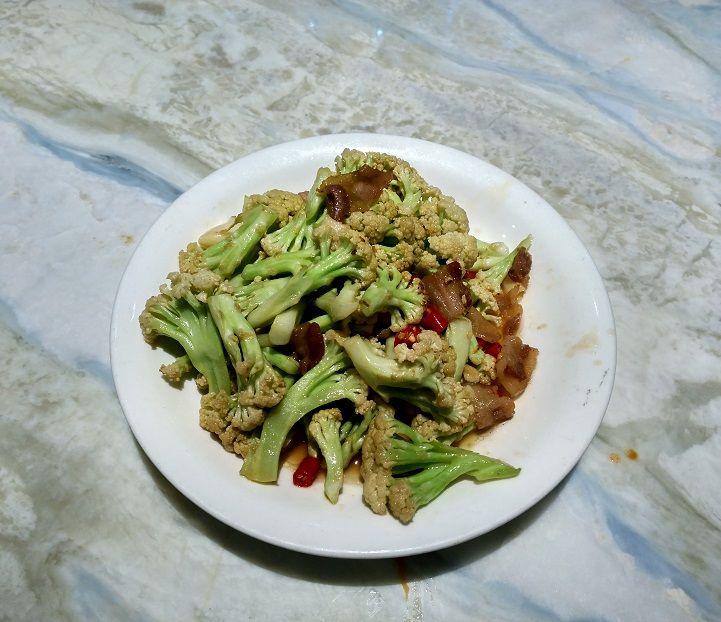 brocoli salsa picante shanghai china