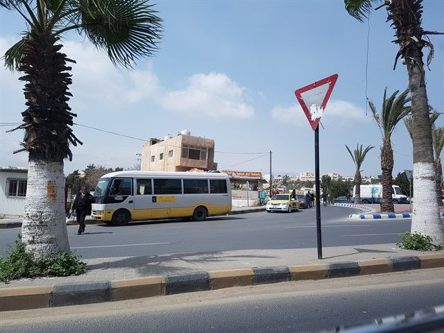 Minibuses en Jordania