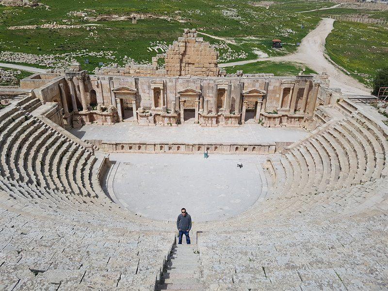 Teatro romano de Jerash, uno de los mejores del mundo