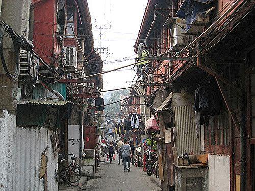 calles alrededor mercado yuyuan