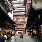 La parte antigua de Shanghai, Jardín y Mercado Yuyuan
