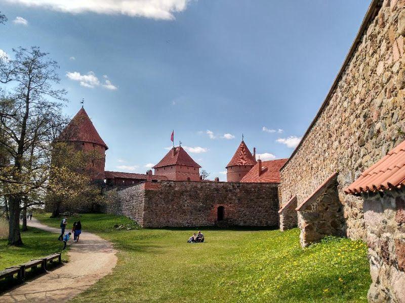 castillo trakai exteriores