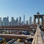 Cruzando el puente de Brooklyn, visitando Williamsburg y viendo baloncesto