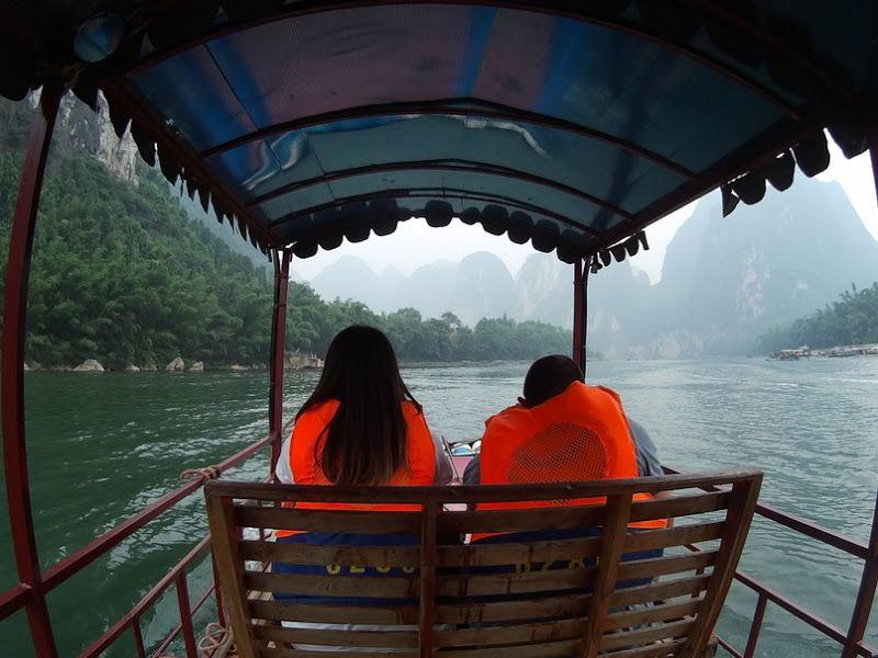barco bambu rio li