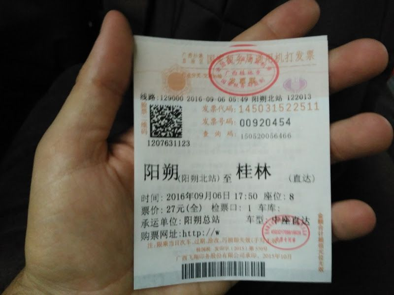 ticket bus yangshuo guilin