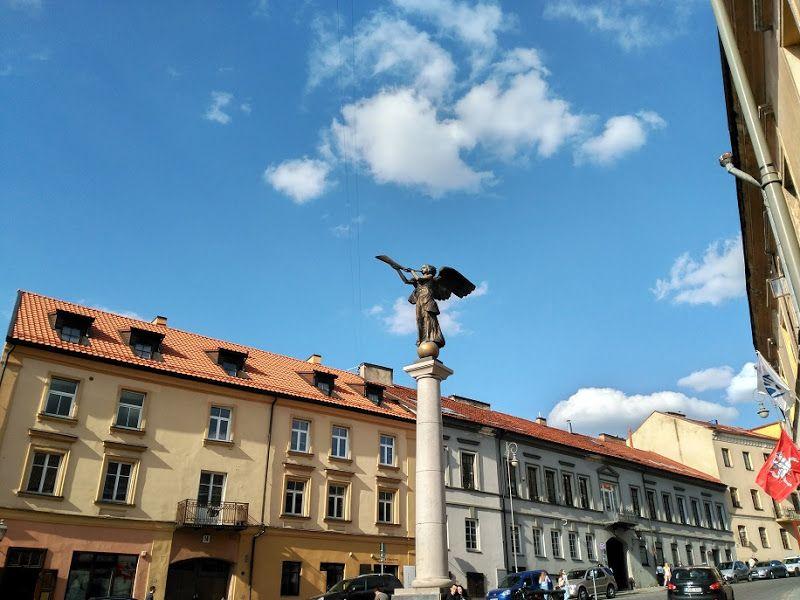 angel de uzupis vilna lituania