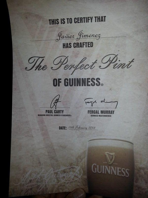 Diploma de la pinta perfecta