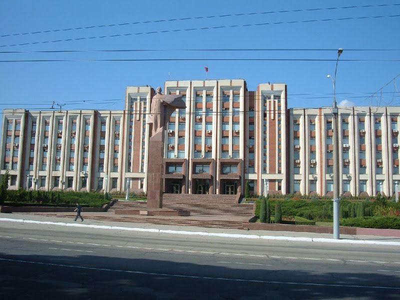 estatua lenin edificio gobierno transnitria